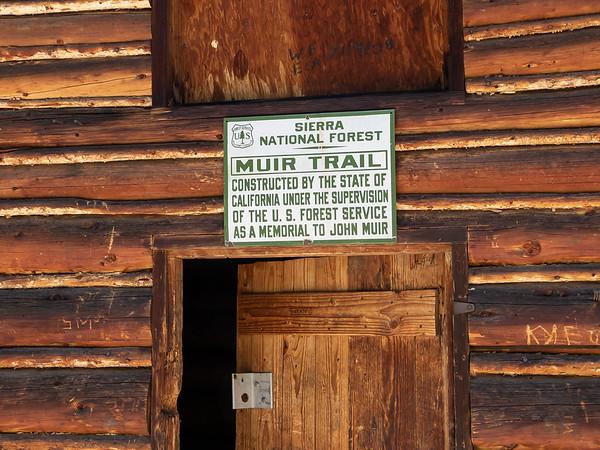 Muir Trail Cabin.