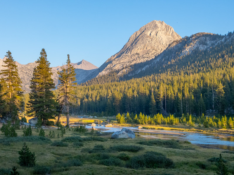 McClure Meadow and The Hermit.