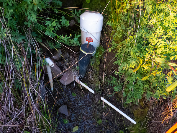 My goal was Redondo Spring, about 1 mile north of Volunteer Camp.   This was my water source for the trip.