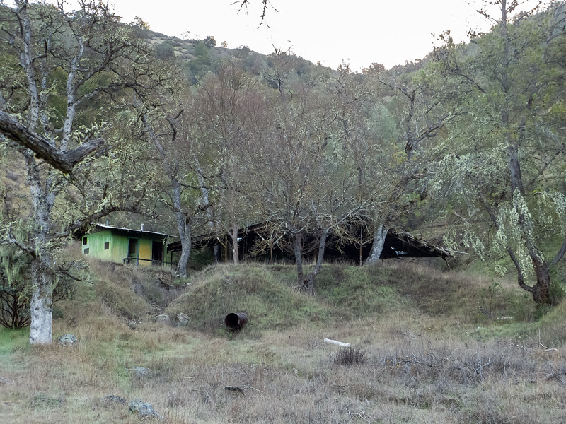Near camp was the now-abandoned Arnold Horse Camp.