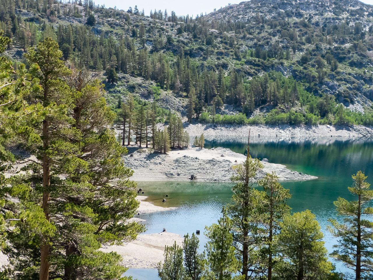 Gem Lake.  It's low.