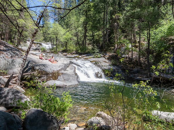 Carlon Falls - lower falls and pool.