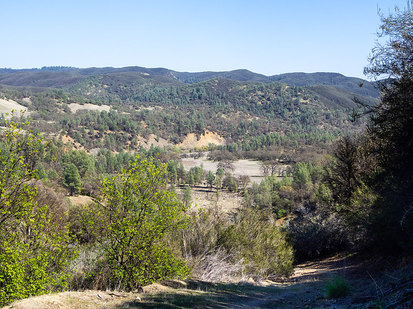 The view down to the north end of Wilson Valley.