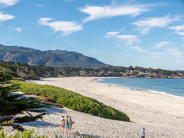 Carmel Beach.