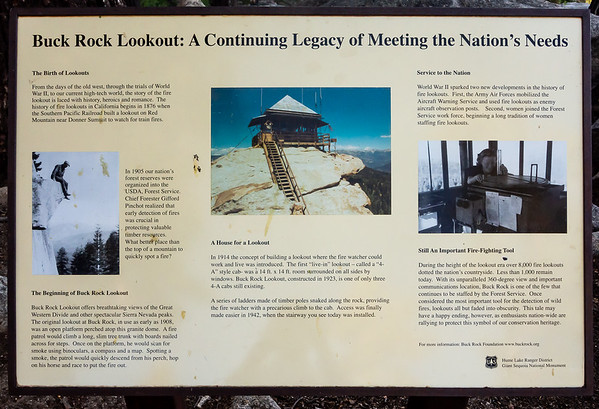 The story of the 91 year old Buck Rock lookout.
