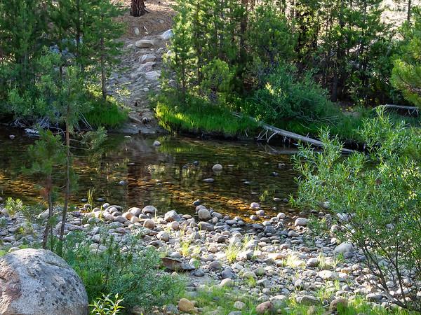 The Sugerloaf Creek crossing.
