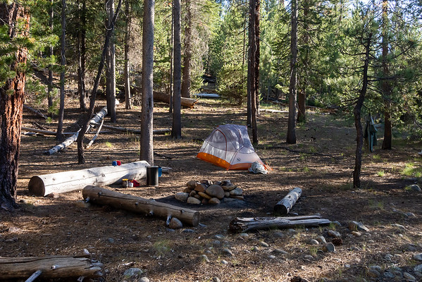 I made camp just past the Sugarloaf Creek crossing.