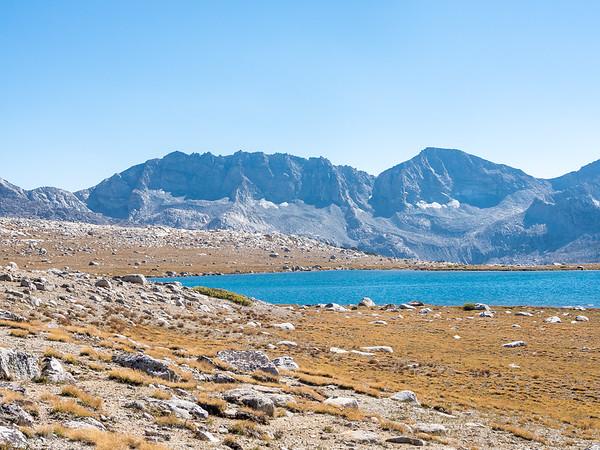 Mesa Lake and the Glacier Divide.
