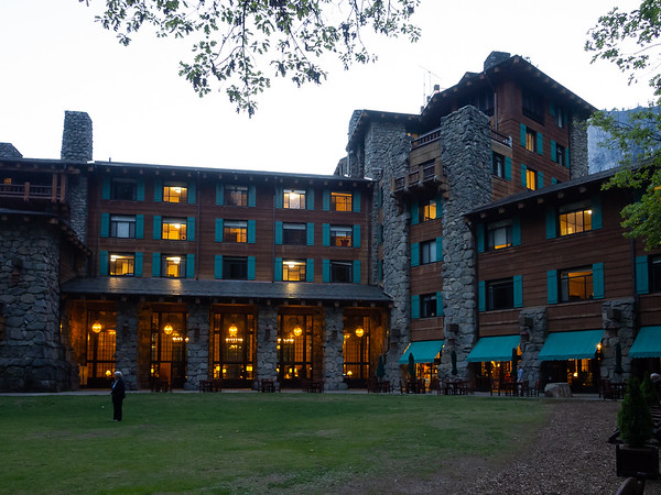 "I walked over to the  Ahwahnee.  The Backpacker's Camp is just a ways beyond the ""cabins"" associated with it."