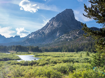 Wyoming: Wind River Range Cirque of the Towers- Aug2014