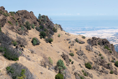 Mt Diablo: Two Yrs after the Morgan Fire  - Aug 30 2015
