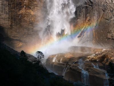 Yosemite's Falls: Fire and Water - February 2015