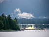 Across Burrard Inlet and opposite Stanley Park is the working harbor.