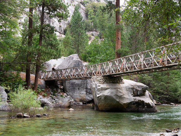 Bailey Bridge over the South Fork of the Kings.