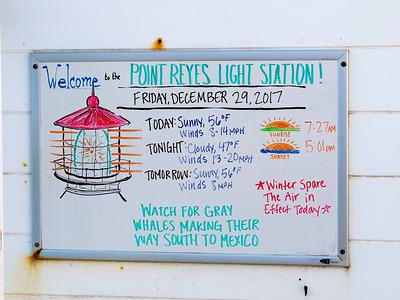 Pt Reyes Light Station - Dec 29 2017