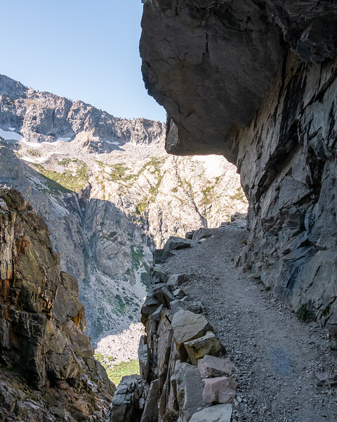 The High Sierra Trail to Kaweah Gap and beyond- Sept 2017