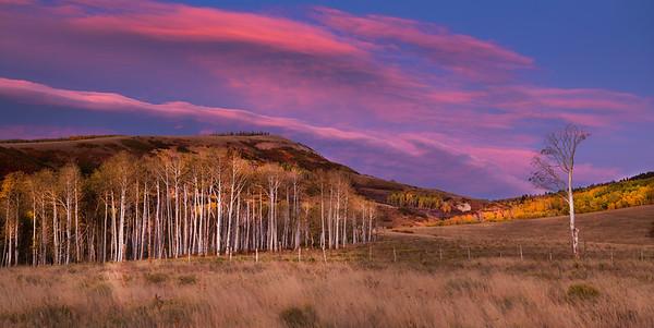 Sunset Uncompahgre Plateau
