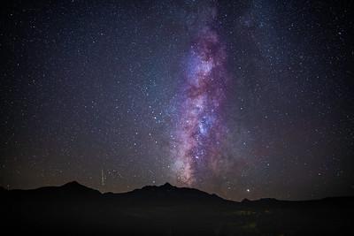 Milky Way over Mt Wilson Fall 2019