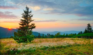 Sunset Roan Mountain
