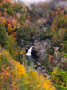 Linville Falls late October