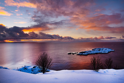 Reinefjorden Sunrise