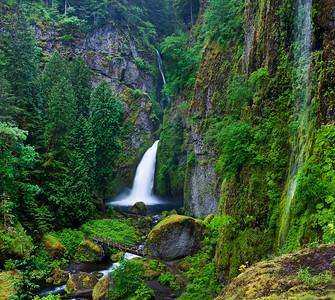 Wahclella Falls May 2013