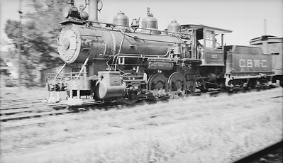 2018.008.CWC.S.04--bruce meyer 116 neg--C&WC--steam locomotive 0-6-0 307 action--Greenville SC--1935 0913