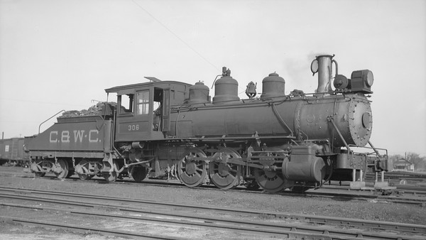 2018.008.CWC.S.07--bruce meyer 116 neg [F Ardrey Jr]--C&WC--steam locomotive 0-6-0 306--Augusta GA--1937 0321