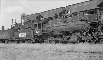 2018.008.CWC.S.06--bruce meyer PC neg--C&IM--steam locomotive 0-6-0 308 (dead)--Augusta GA--1948 0700