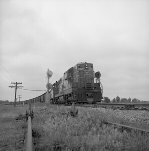 2018.008.CIM.F.074--bruce meyer 120 neg--C&IM--diesel freight train northbound--Petersburg IL--1959 0610