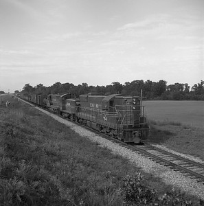 2018.008.CIM.F.063--bruce meyer 120 neg--C&IM--diesel freight train southbound--south of Manito IL--1959 0529