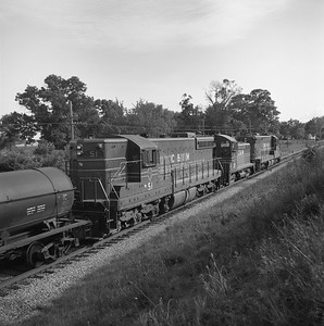 2018.008.CIM.F.064--bruce meyer 120 neg--C&IM--diesel freight train southbound--north of Union IL--1959 0529