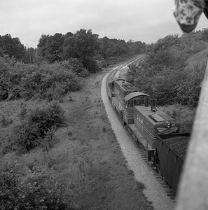 2018.008.CIM.F.070--bruce meyer 120 neg--C&IM--diesel freight train northbound--Petersburg IL--1959 0610