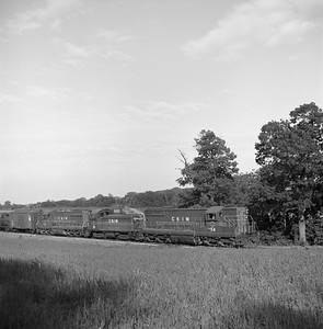2018.008.CIM.F.065--bruce meyer 120 neg--C&IM--diesel freight train southbound--north of Bishop IL--1959 0529