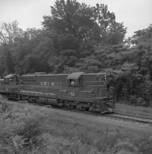 2018.008.CIM.F.073--bruce meyer 120 neg--C&IM--diesel freight train northbound--Petersburg IL--1959 0610
