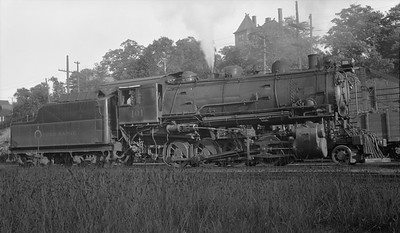 2018.008.COPR.S.01--bruce meyer 116 neg [John Boose]--COPR--steam locomotive 2-8-0 101--Houghton MI--1939 0825