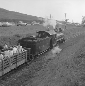2018.008.EBT.S.24--bruce meyer 120 neg--EBT--steam locomotive 2-8-2 12 with passenger excursion train--north of Orbisonia PA--1960 1016