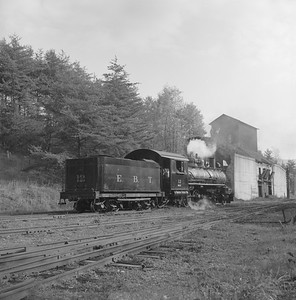 2018.008.EBT.S.18--bruce meyer 120 neg--EBT--steam locomotive 2-8-2 12 rear tender view--Rockhill PA--1960 1016