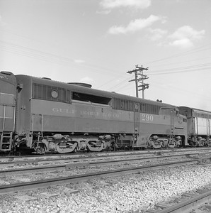 2018.008.GMO.D.123--bruce meyer 120 neg--GM&O--ALCO diesel locomotive 290 (retired and turned in to EMD)--McCook IL--1963 0406