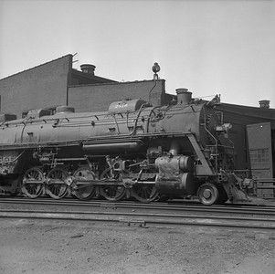 2018.008.IC.S.0989--bruce meyer 120 neg--ICRR--steam locomotive 2-10-2 2816 detail--Paducah KY--1957 0715
