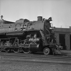 2018.008.IC.S.0951--bruce meyer 120 neg--ICRR--steam locomotive 2-10-2 2807 detail--Paducah KY--1957 0715