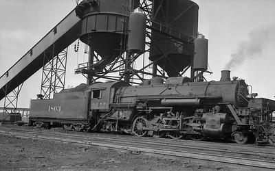 2018.008.IC.S.3766--bruce meyer PC neg--ICRR--steam locomotive 2-8-2 1803--Paducah KY--1956 0617