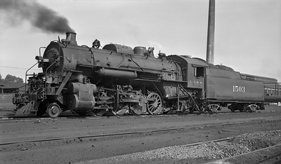 2018.008.IC.S.3755--bruce meyer PC neg--ICRR--steam locomotive 2-8-2 1503 (later renumbered 1803)--location unknown--no date