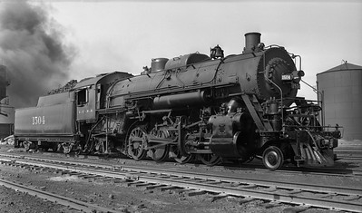 2018.008.IC.S.3756--bruce meyer PC neg--ICRR--steam locomotive 2-8-2 1504 (later renumbered 1804)--location unknown--no date
