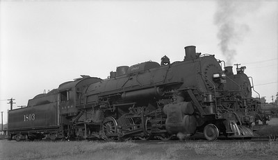 2018.008.IC.S.2616--bruce meyer 116 neg--ICRR--steam locomotive 2-8-2 1803--Fulton KY--1951 0901