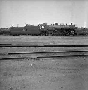 2018.008.IC.S.0230--bruce meyer 120 neg--ICRR--steam locomotive 2-8-2 1600--Paducah KY--1955 0600