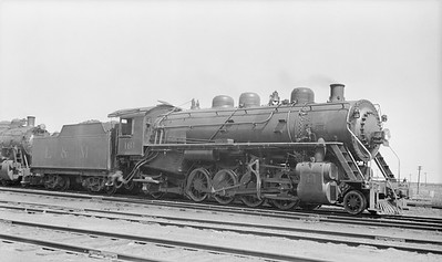 2018.008.LM.S.11--bruce meyer 116 neg--L&M--steam locomotive 2-8-2 161--Edwardsville IL--no date