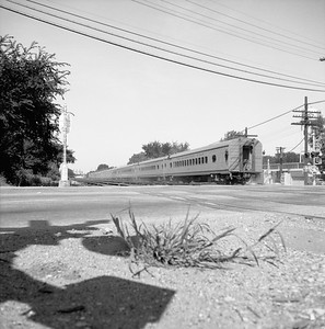 2018.008.MIL.0031--bruce meyer 120 neg--CMStP&P--The Challenger passenger train hind end--Franklin Park IL--1958 0809