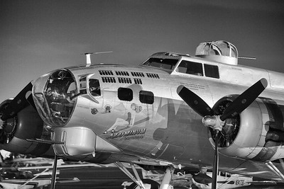 """Aluminum Overcast"" A B-17"