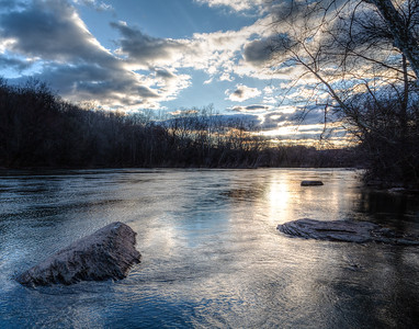 Blue Morning on the Monocacy